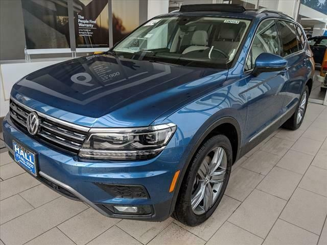 2019 Volkswagen Tiguan 2 0t Sel Premium 4motion 2019 Volkswagen Tiguan Silk Blue Metallic With 5143 Miles Available N Volkswagen Cars Trucks Volkswagen Models