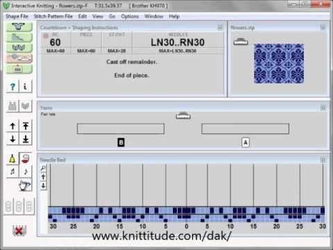 DesignaKnit 8 Interactive Knitting Basics