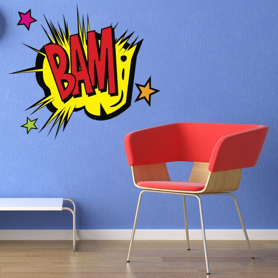 BAM Wall Decal