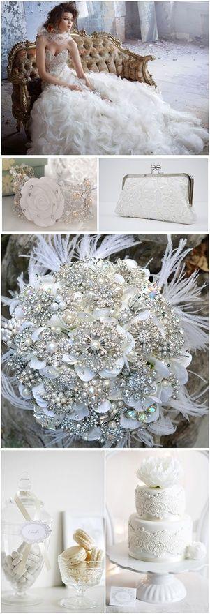 Wedding Ideas #wedding #dress #bouquet #cake