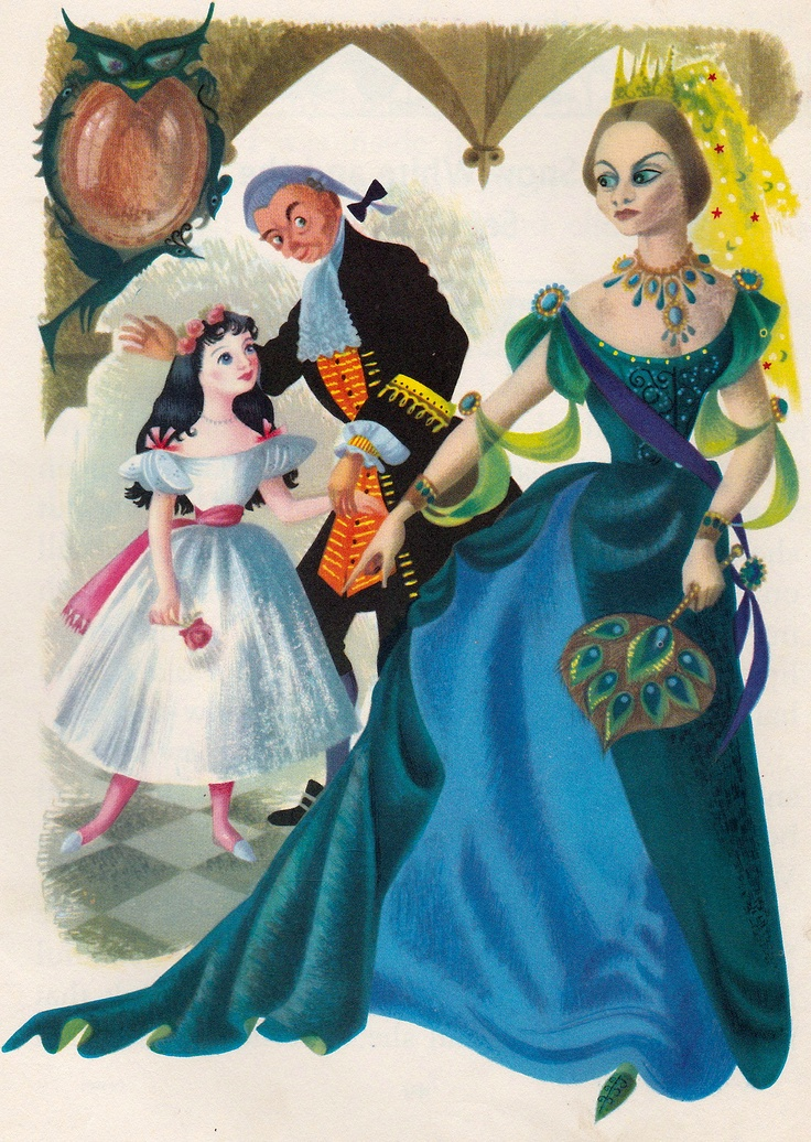 Vintage Snow White Illustration