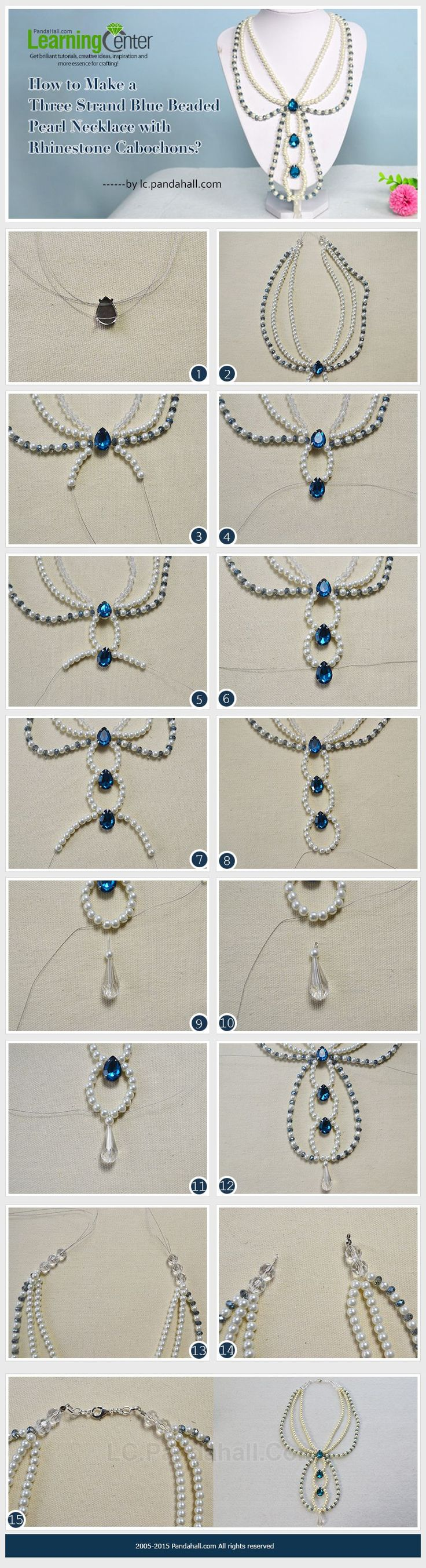 1236 best Necklaces images on Pinterest   Pearl necklaces, Beaded ...