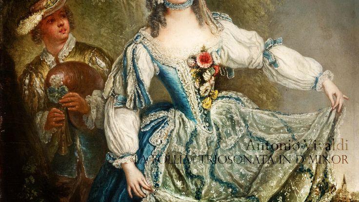 """A. VIVALDI, """"La Follia"""" Trio Sonata in D Minor  Op.1/12 RV 63, L'Arte de..."""