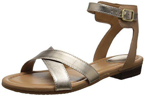 Clarks Women's Viveca Zeal Gladiator Sandal, Gold, 10 M US Clarks http://www.amazon.com/dp/B00MUB36YE/ref=cm_sw_r_pi_dp_FK4cwb0KXDABJ