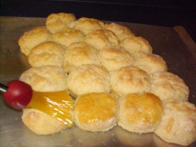 I never attempted buttermilk biscuits until I found this recipe...they turned out awesome!