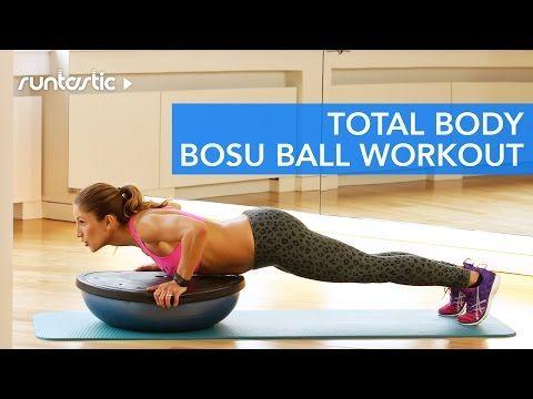 Total Body BOSU Ball Workout - YouTube