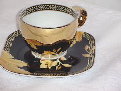 Rosenthal / Versace Vanity gold cup and saucer   eBay