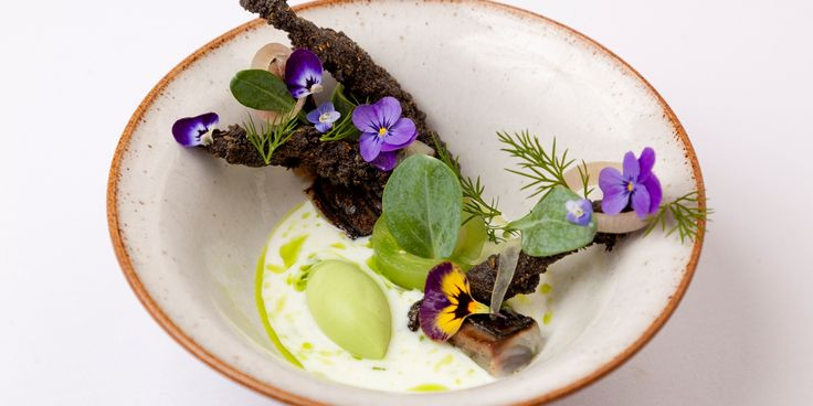 This intricate, beautify dish from Phil Fanning plays with classic flavour combinations of pickle, dill and mackerel