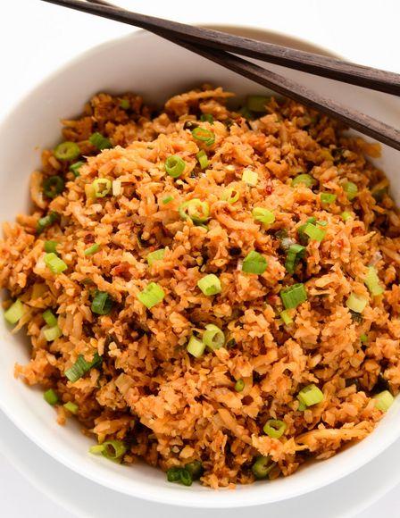Arroz de coliflor | #Receta de cocina | #Vegana - Vegetariana ecoagricultor.com