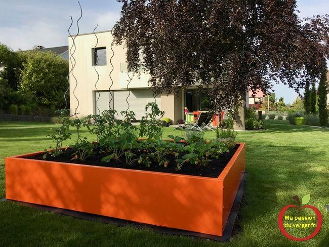 Jardiniere Remplacer Un Bac Potager Carre En Bois Comment Remplaccer Un Bac Potager En Bois Jardin Potager En Bois Bac Jardin En Carre Potager Bois Potager