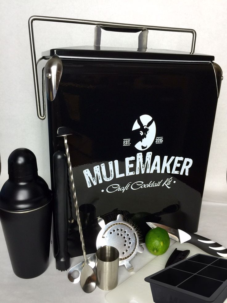 Copper Moscow Mule Mugs, Bar Set, and Chill Chamber for the Moscow Mule Lovers. Introducing the Only Craft Cocktail Kit to Make Mules Anywhere - MuleMaker. http://mulemaker.com/
