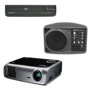 Rent DVD Projector Kit for Outdoor Movies and More.... $84 for entire weekend of outdoor movies or whatever you want to watch outside with family and friends!