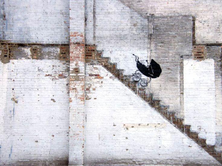 Banksy - Chicago, 2010