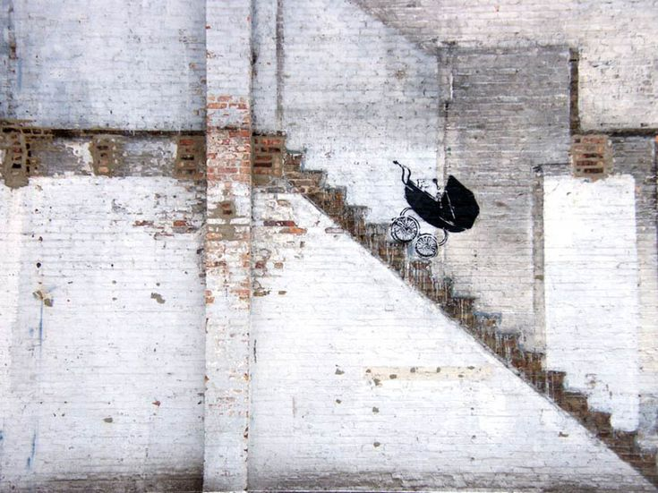 Banksy / Chicago, 2010