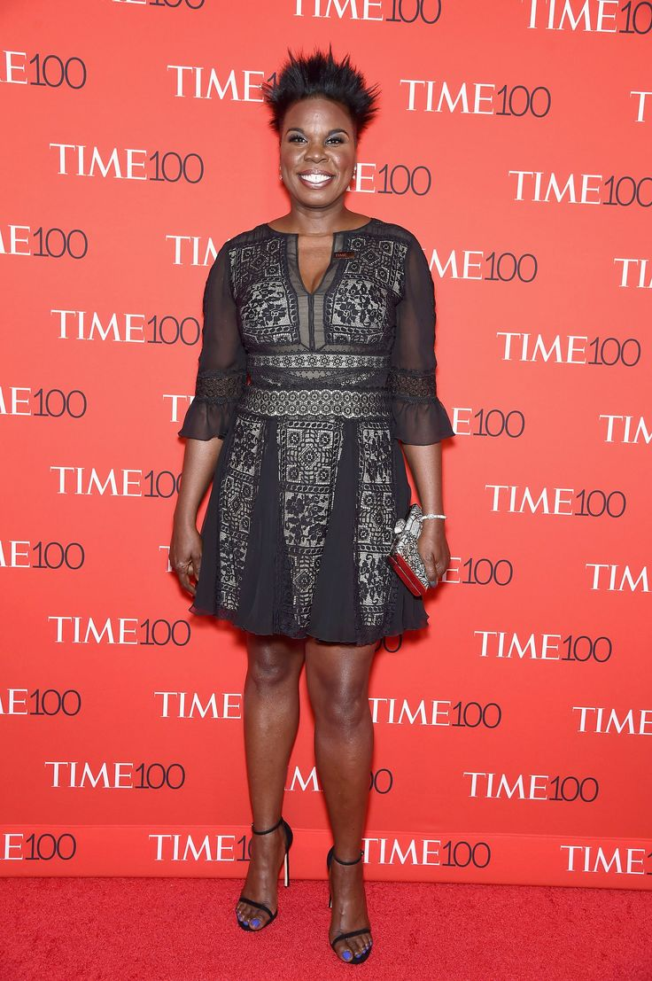 NEW YORK, NY - APRIL 25:  Comedian and actress Leslie Jones attends the Time 100 Gala at Frederick P. Rose Hall, Jazz at Lincoln Center on April 25, 2017 in New York City.  (Photo by Gary Gershoff/WireImage) via @AOL_Lifestyle Read more: https://www.aol.com/article/entertainment/2017/04/26/time-100-gala-red-carpet-arrivals/22056483/?a_dgi=aolshare_pinterest#fullscreen