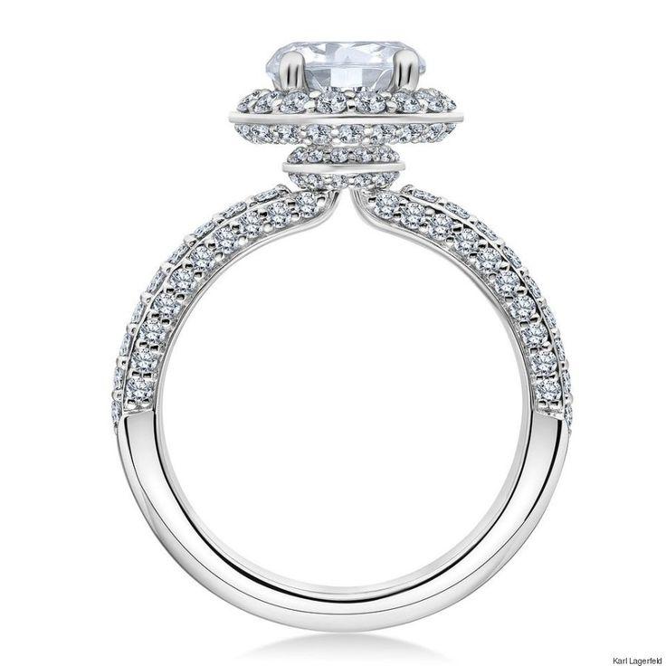 Akillis Wedding Band White Gold and Diamonds for Women - UK K 1/2 - US 5 3/8 - EU 51 DLf1w