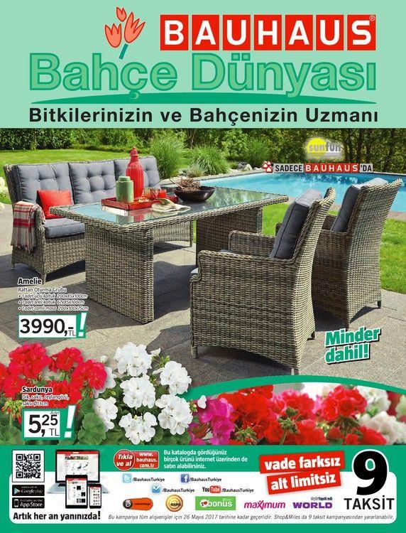 Bauhaus mağazalarında indirim fırsatları sürüyor. Havaların ısınmasıyla birlikte bahçe sezonu açıldı. En güzel bahçeler için mobilyalar, mangallar, canlı çiçekler ve ihtiyacınız olan yüzlerce ürün çeşidinde Bauhaus indirim fırsatları sizleri bekliyor. Bauhaus mağazalarında bu ay6-26 Mayıs 2017 tarihleri arasında bahçe ürünlerinde geçerli olacak indirimli ürünlerin yeraldığı kampanya kataloğunu aşağıda inceleyebilirsiniz.