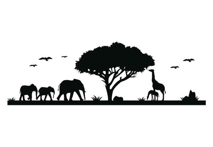 Safari Wall decals