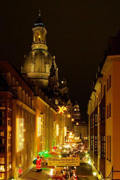 Weihnachtsmarkt+Dresden | Weihnachtsmarkt Dresden: Die Münzgasse liegt im Herzen der Altstadt ...