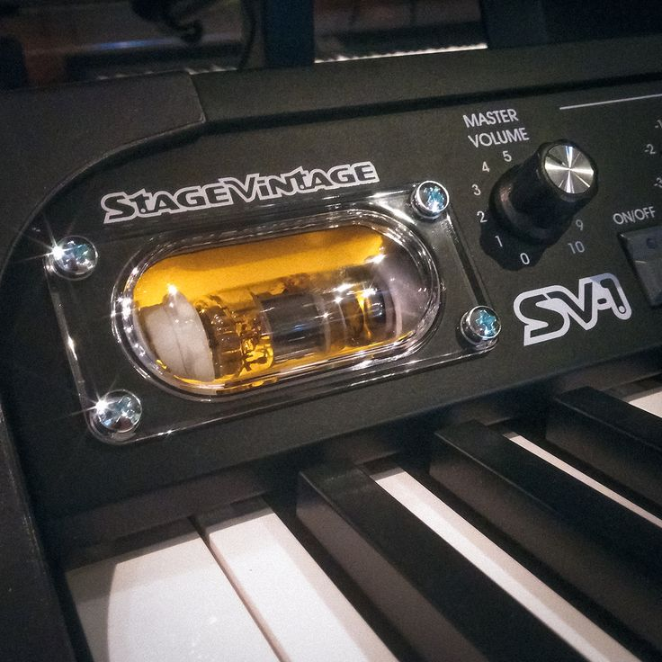 At the heart of the Korg SV-1 Stage Vintage Piano is its flux capacitor which obviously enables it to travel back in time and achieve that signature vintage sound. #korg #sv1 #fluxcapacitor #synth #synthesizer #keyboard #stagepiano