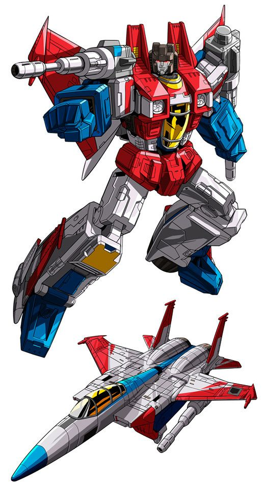 Starscream: Great name, great design, whiny yet treacherous. There's a reason he's one of two Masterpiece Transformers I own.