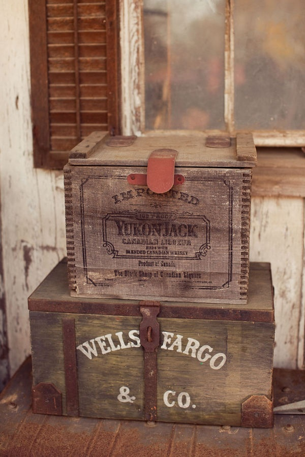 Old Crates...