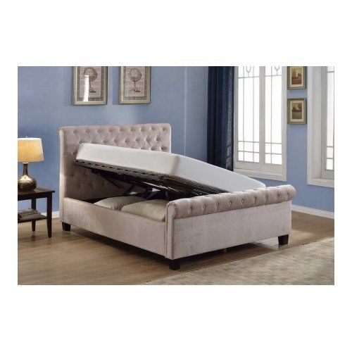 25 best ideas about upholstered ottoman on pinterest for Diy ottoman bed frame