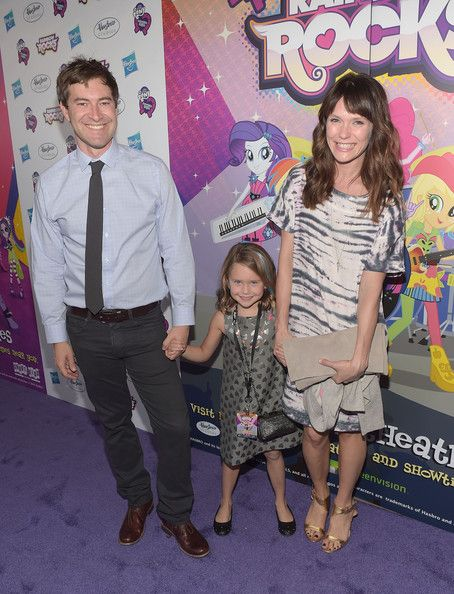 Katie Aselton Photos - Actor Mark Duplass, daughter Ora Duplass and wife Katie Aselton attend the premiere of My Little Pony Equestria Girls Rainbow Rocks at TCL Chinese Theatre on September 27, 2014 in Hollywood, California. - Hasbro Studios Present The Purple Carpet Premiere Of My Little Pony Equestria Girls Rainbow Rocks