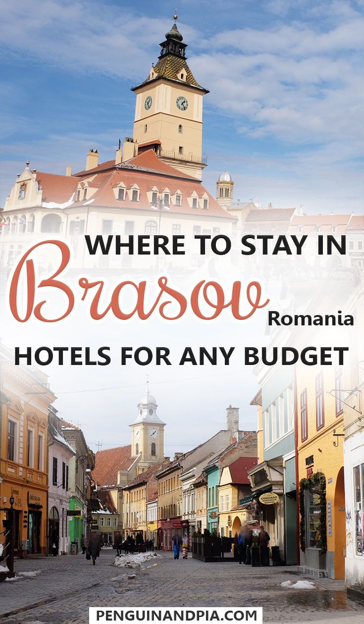 Brasov, Romania, is an up-and-coming destination. We share some of the best hotels for any budget for your trip to this beautiful Romanian City. From Hotels in the Old Town to Hotels close to Tampa Mountain - there is something for everyone! #brasov #romania #hotels #accommodation #oldtown #tampamountain