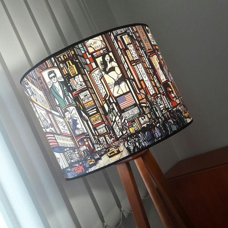 Lampa trójnóg podłogowa New City/New City tripod #fotolampy