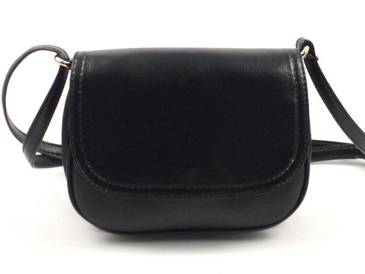 Женская сумочка через плечо №12-21 ( Черный (матовый) ) Код товара: 6561