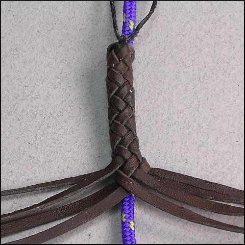 - 8 Strands : Leather Braiding by John