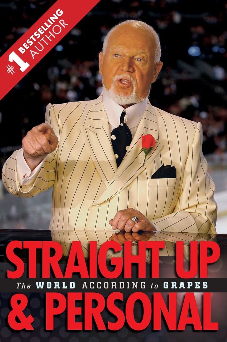 In Straight Up and Personal, Cherry shares his thoughts on a broader range of issues than he ever has before. He shares some of his personal experiences on and off the ice, and offers the lessons he's learned along the way. This is Don Cherry: straight up and personal.