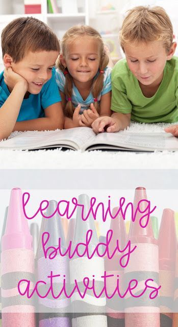 Learning buddy activities to keep elementary students busy and engaged.