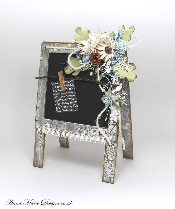 3D MDF Chalk Board Stand - Anna Marie Designs