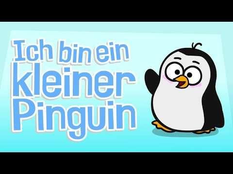 ♪ ♪ Kinderlied Pinguin - Ich bin ein kleiner Pinguin - Hurra Kinderlieder - YouTube