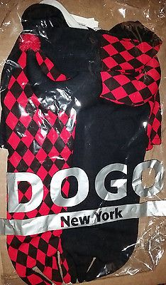 Costumes 52352: Brand New Dogo Red And Black Joker Dog Costume Sweatshirt Size S Small -> BUY IT NOW ONLY: $32.0 on eBay!