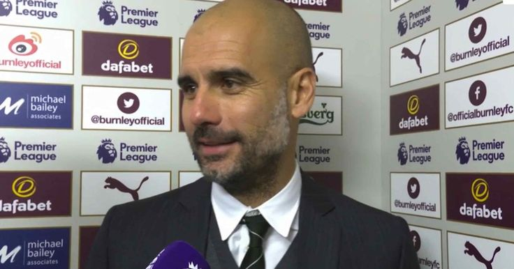 """Pep Guardiola """"satisfied"""" with three points as Manchester City edge past tough Burnley - Mirror Online"""