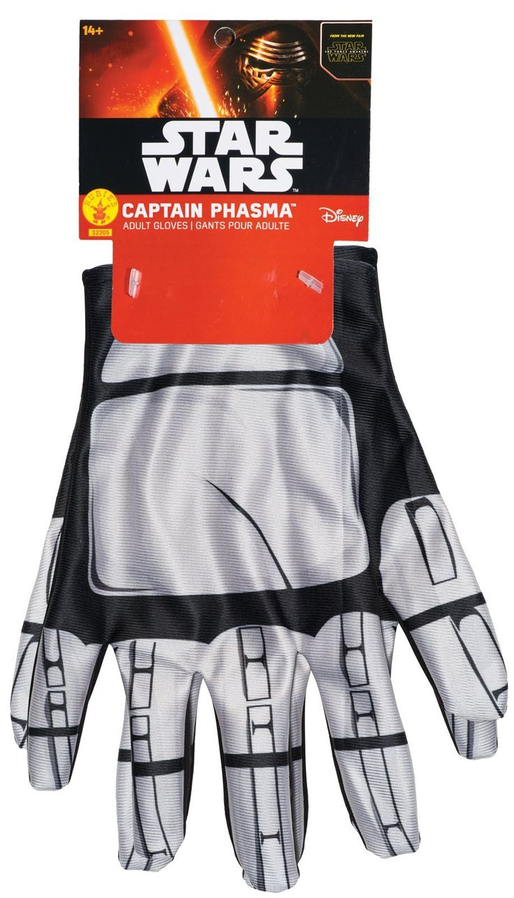 Amazing Star Wars Episode VII Captain Phasma Gloves For Women