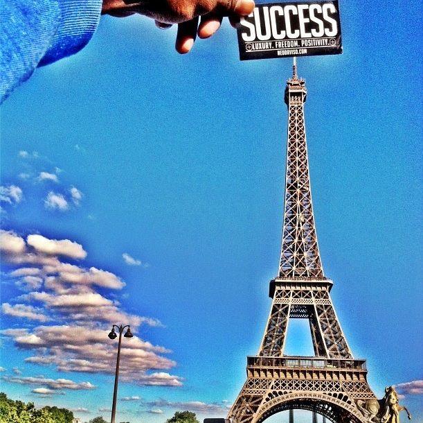 #EiffelTower #Paris #NeoDaviso #Success #traveler #traveling #France #Europe