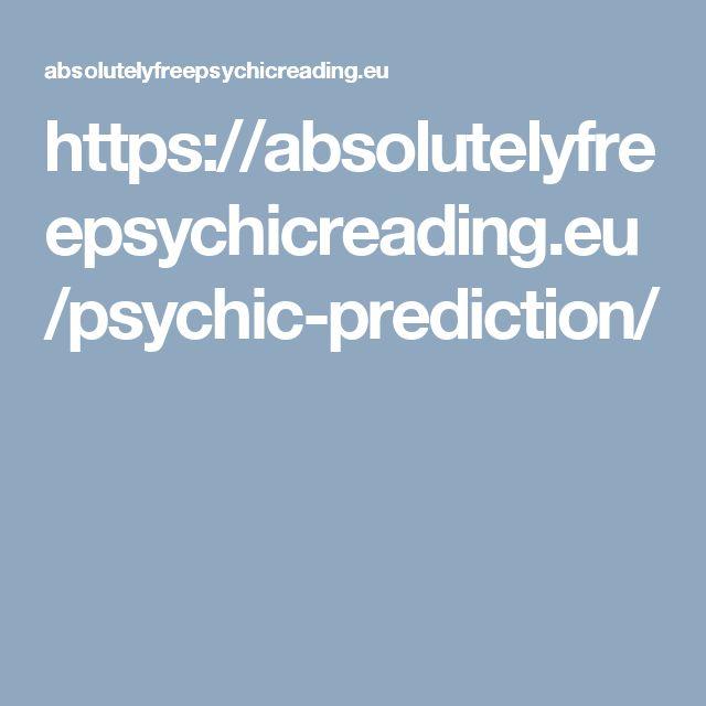 https://absolutelyfreepsychicreading.eu/psychic-prediction/