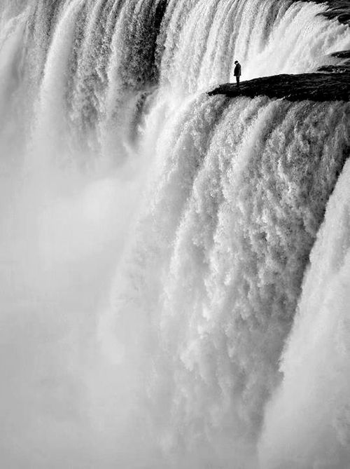 This could be Victoria Falls, Zimbabwe