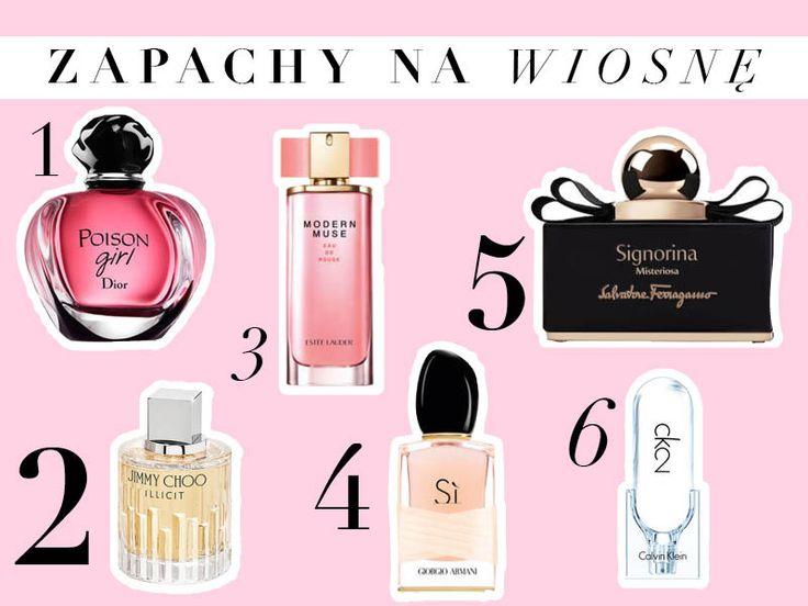 Perfumy na wiosnę 2016