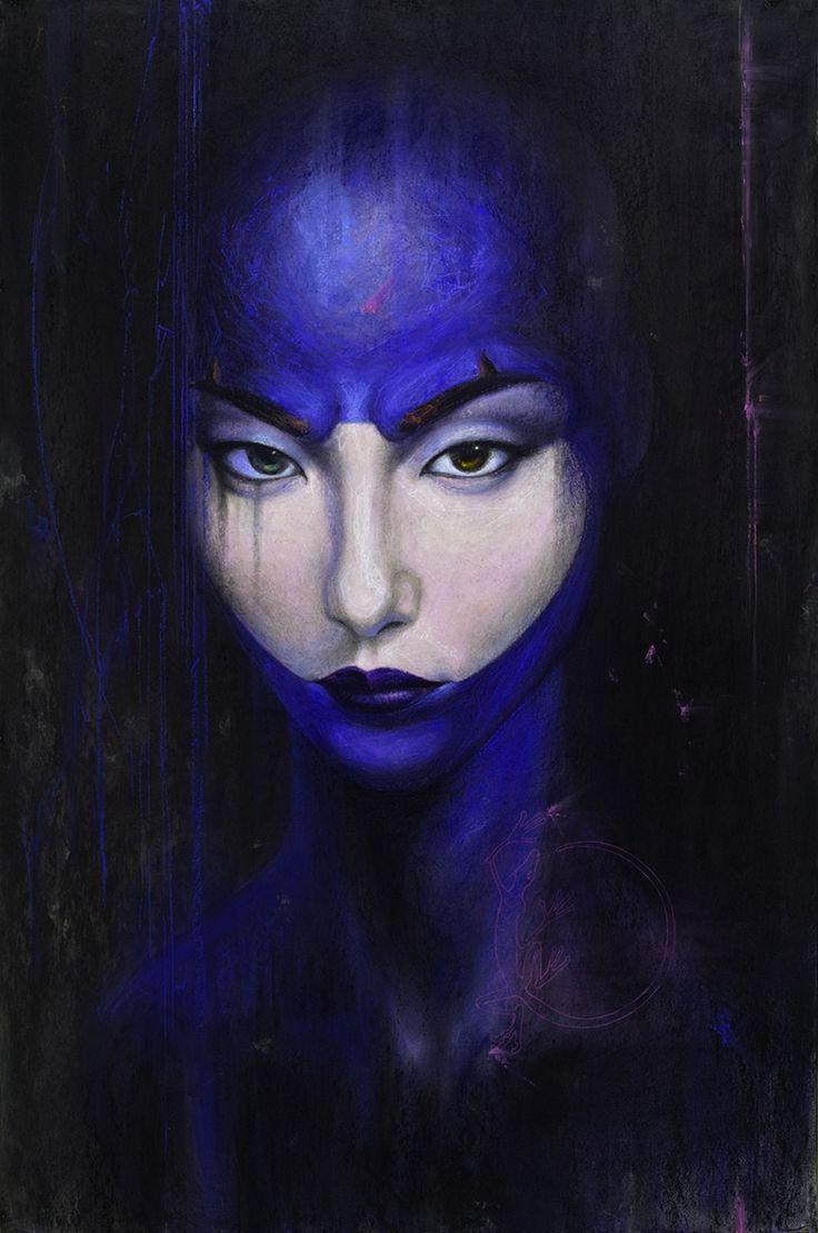 #silviocadelo #ideomages #contemporaryart #dessin #pastel #paper #painting #art #hubertybreyne #gallery #drawing