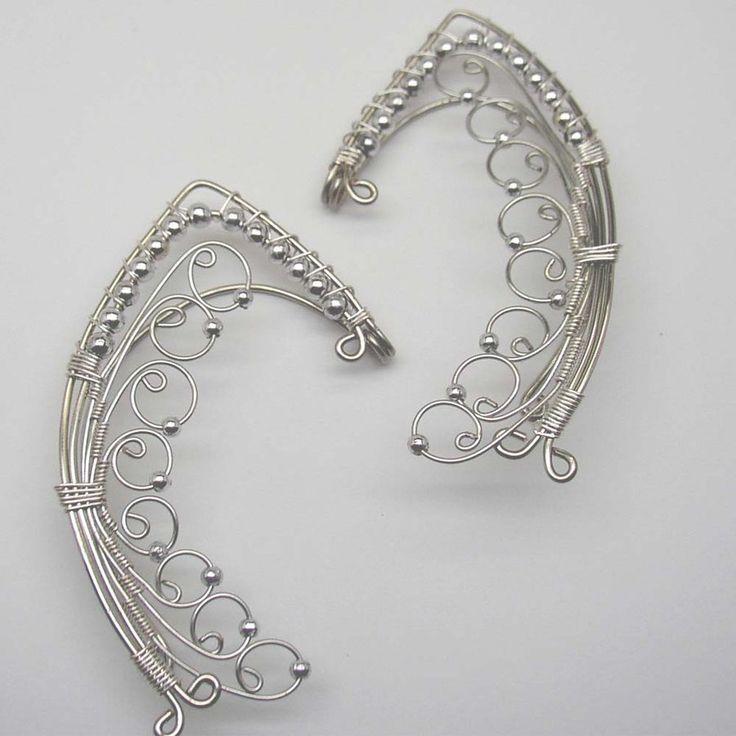 Tinuviel-ear wrap ear cuff pair by ~LRakerDesigns on deviantART