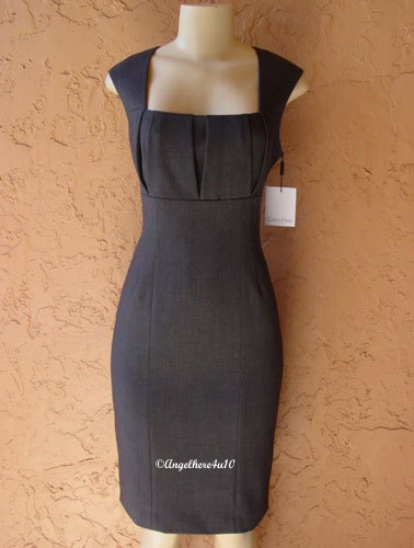 New Calvin Klein Cocktail Gown Evening Party Career Dress Sz 4US 32 34EU 6UK | WANT IT SO BAD!!!!