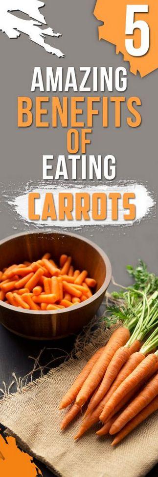 5 Amazing Benefits of Eating Carrots