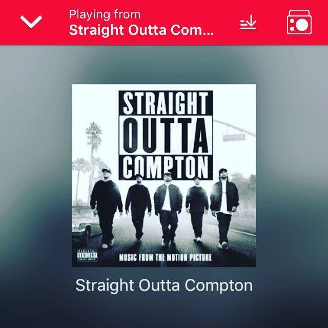 Straight Outta Compton  #SongOfTheDay  #NWA  #StraightOuttaCompton  #TuesdayMotivation