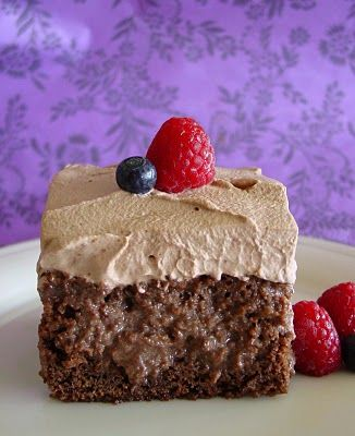 Eat your heart out Alicia! Chocolate Tres Leche Cake