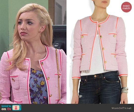 Emma's pink tweed jacket on Jessie